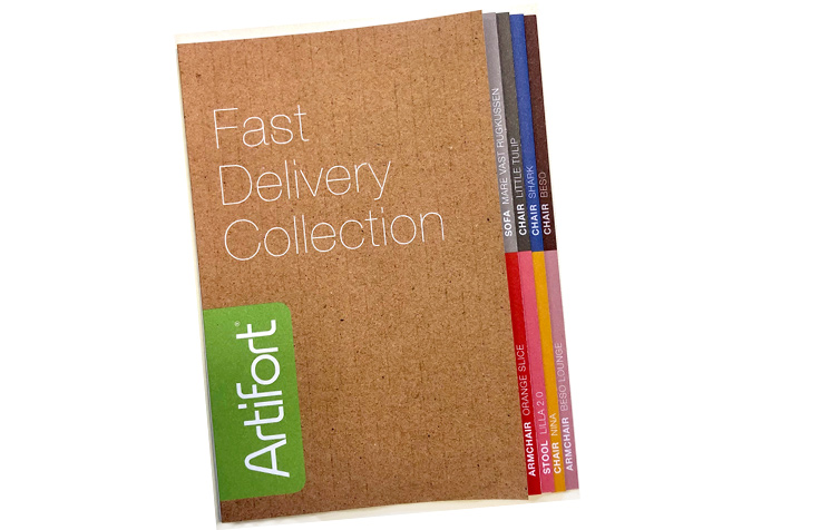 Fast delivery brochure